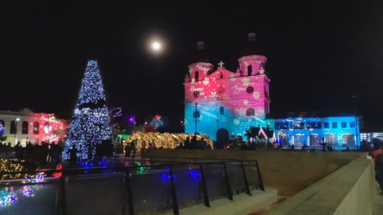 Alumbrado navideño en Rionegro