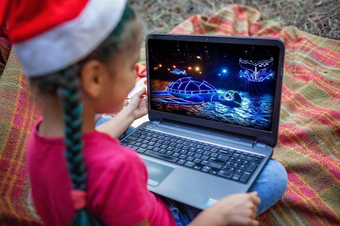 Alumbrados de Medellín en recorrido virtual