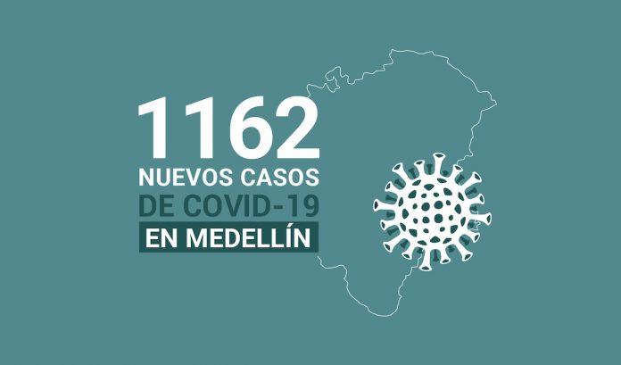 Registro de casos de COVID-19 en Medellín este lunes 4 de enero