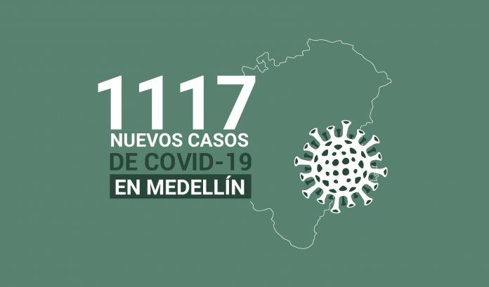 Casos de COVID-19 en Medellín enero 14