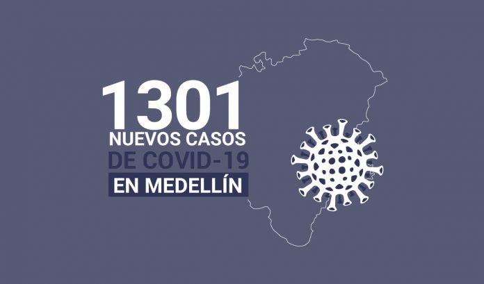Registro de casos de COVID-19 en Medellín este viernes 15 de enero