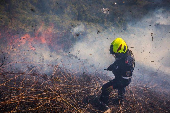 incendio en las palmas Medellín
