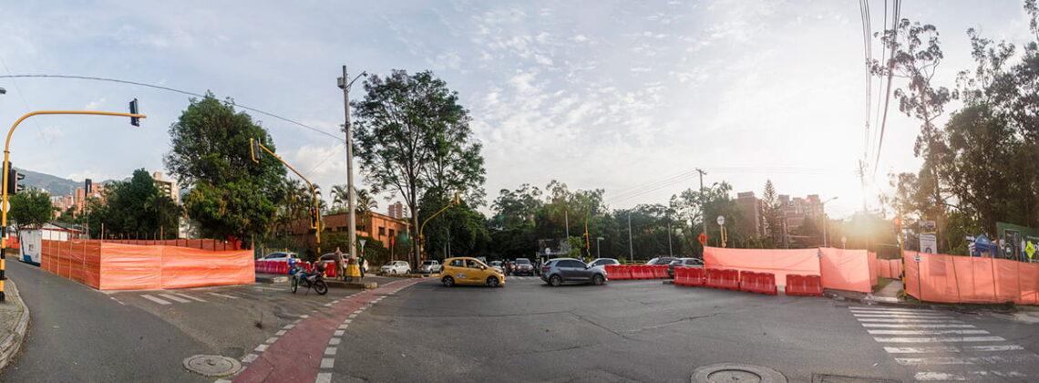 Las obras del Metroplús tramo 2B en Envigado se suspenden otra vez
