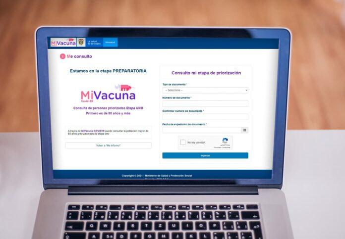 Desde este viernes está habilitado el portal Mi Vacuna