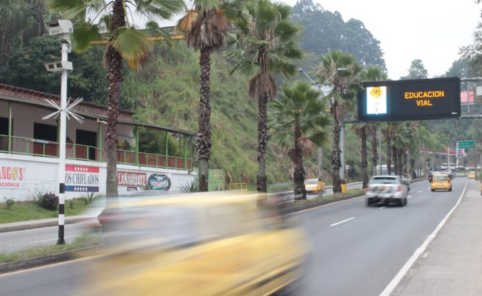 Foto multas en Medellín