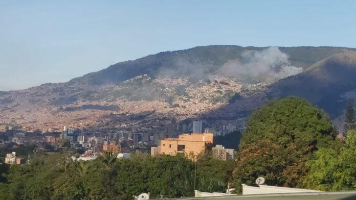 Incendio forestal en Santa Elena no dejó personas lesionadas
