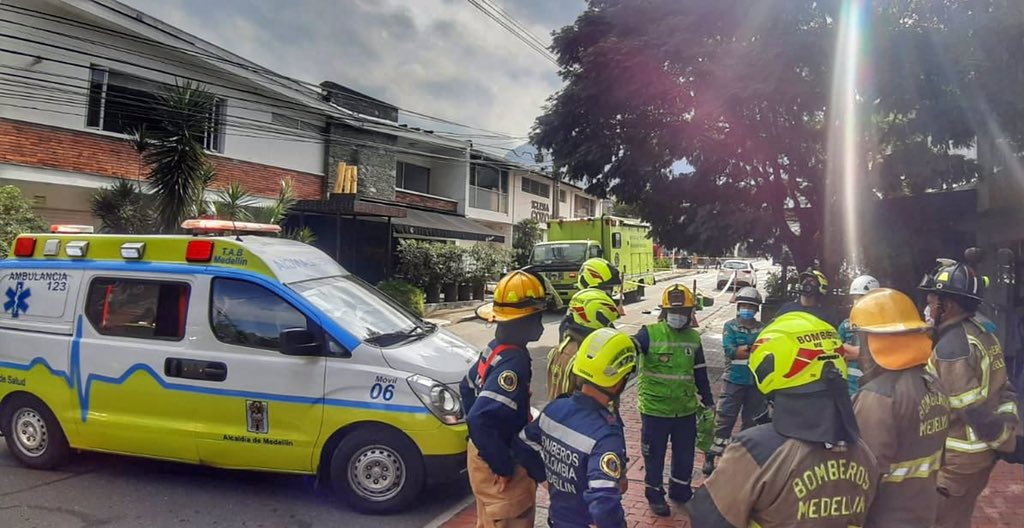Incidente en El Poblado