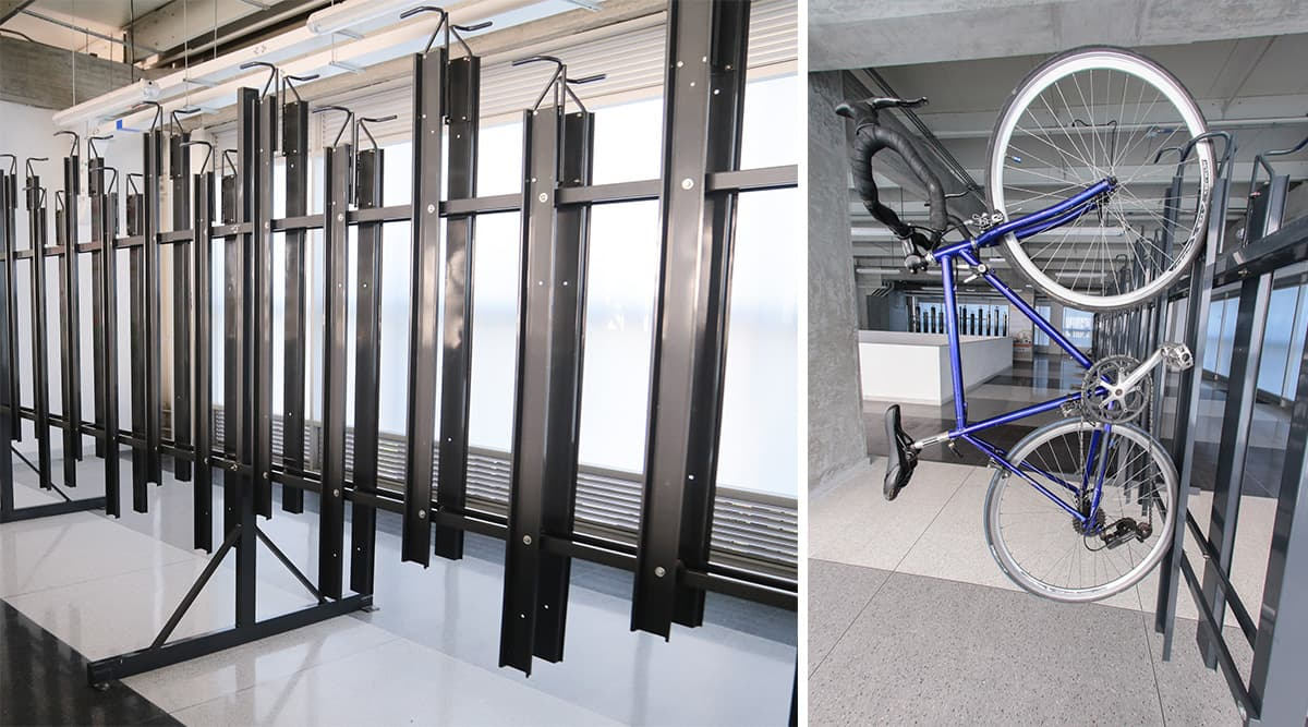 La estación Aguacatala ya cuenta con 88 biciparqueaderos