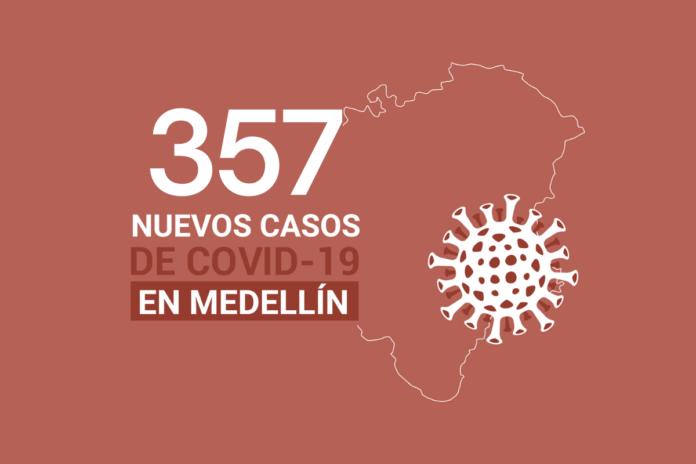casos de COVID-19 en Medellín este lunes 8 de febrero