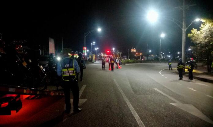 Operativos de control Rionegro para evitar los piques de motos