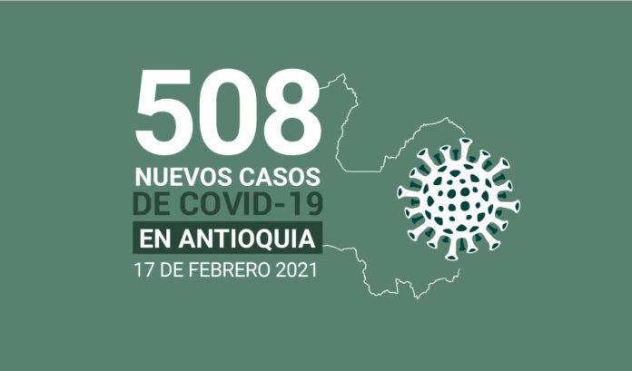 Covid-19 en Antioquia el 17 de febrero