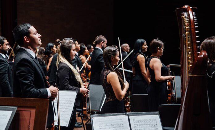 Músicos de Filarmed este sábado en vivo desde el Metropolitano