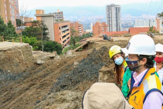 Desviarán quebrada El Indio en sector de Las Palmas afectado por socavación