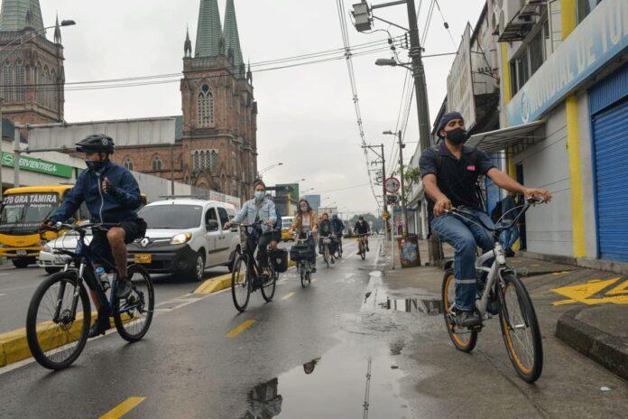 En bicicleta al trabajo