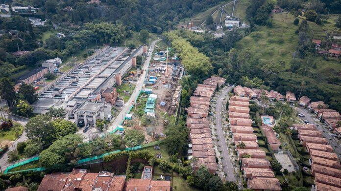 Interrupción de acueducto en sectores de Medellín y Envigado por trabajos en la planta de potabilización La Ayurá