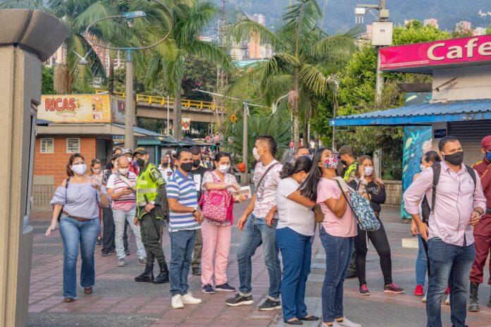 Nuevos contagios COVID19 en Medellín para el domingo 28 de marzo