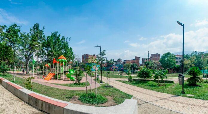Envigado inició la construcción de la segunda etapa del Parque Urbano El Dorado