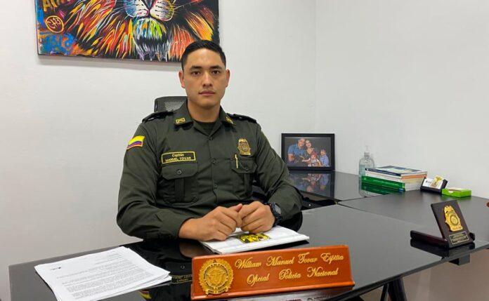 Estos son los retos del nuevo comandante de la Estación de Policía El Poblado