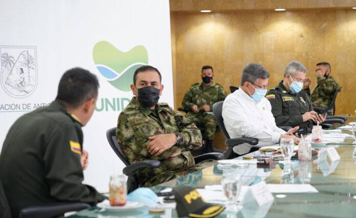Balance de seguridad en Antioquia en febrero de 2021