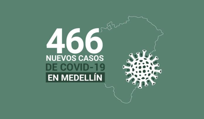 Nuevos contagios de COVID19 en Medellín este miércoles 17 de marzo