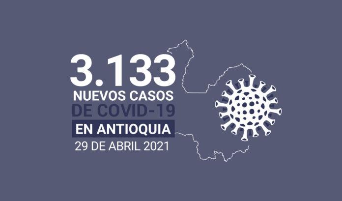 9.600 personas han fallecido en Antioquia por COVID19 al 29 de abril