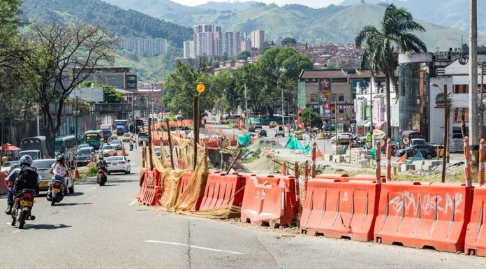 A partir del lunes 19, cierres viales por obras de Metroplús en la 12 sur