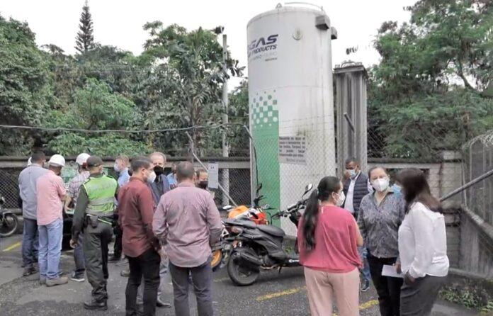 Alcalde de Envigado confirmó nueva planta de oxígeno en el Hospital Manuel Uribe Ángel