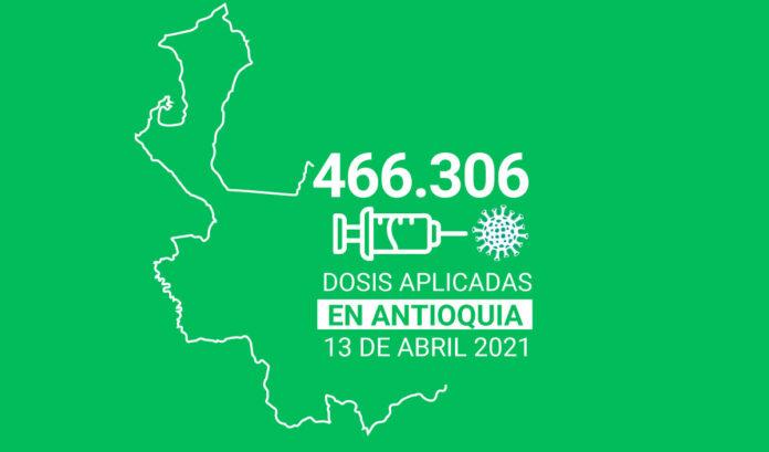 Así va el Plan Nacional de Vacunación en Antioquia