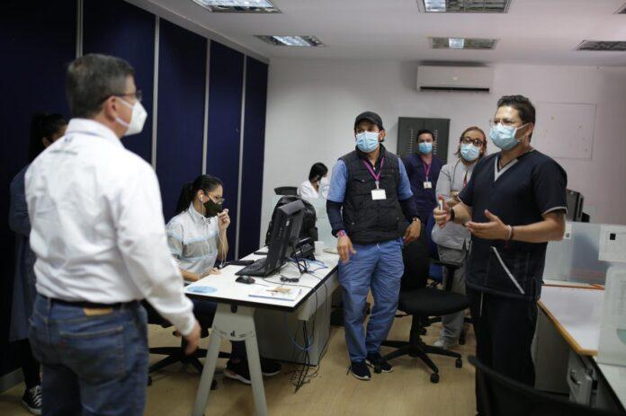 CRUE Antioquia remite pacientes a otras regiones para aliviar ocupación UCI en Medellín