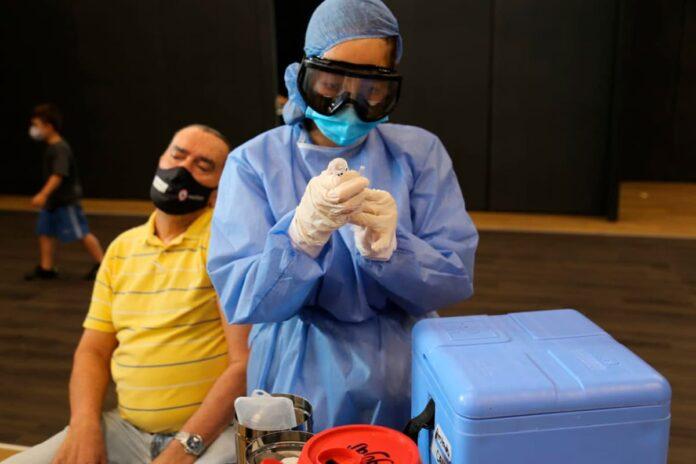 En Medellín ya se han aplicado 333.322 dosis de vacuna contra el COVID19
