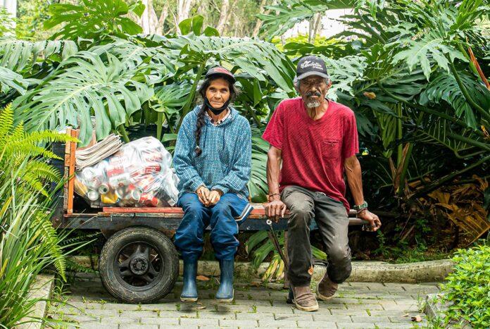 Pareja de recicladores de el Poblado con 50 años de vida compartida