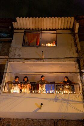Homenaje a la vida de parte de los artistas de Medellín