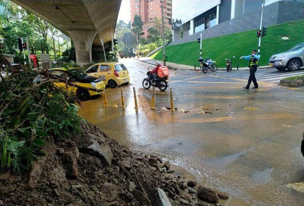 Balance del aguacero en Medellín y El Poblado del 6 de mayo