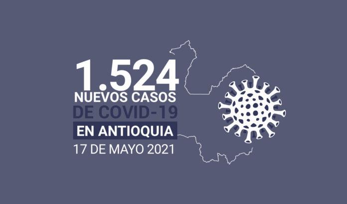 Más de 506.000 contagios de COVID19 se han registrado en Antioquia