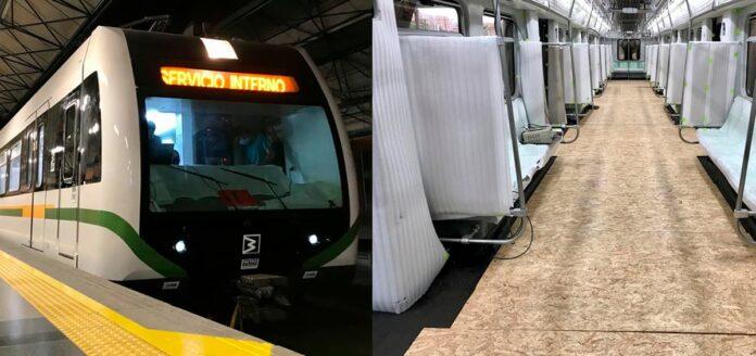 El Metro de Medellín ya tiene rodando su primer tren modernizado