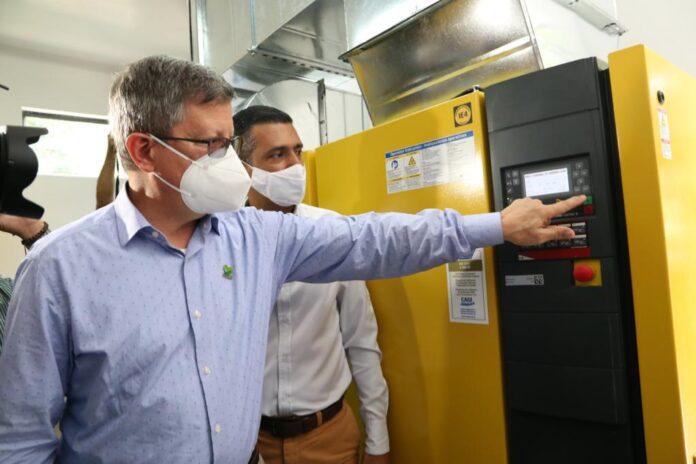 En servicio, nueva planta de oxígeno del Hospital Manuel Uribe Ángel