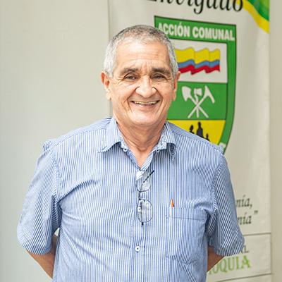 Hernán Gómez, presidente Asocomunal Envigado.