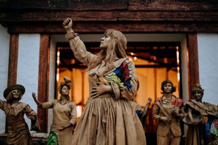 Las hijas de Colombia, obra de teatro en la Casa de la Lectura Infantil