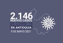 Más de 15.100 casos activos de COVID19 tiene Antioquia