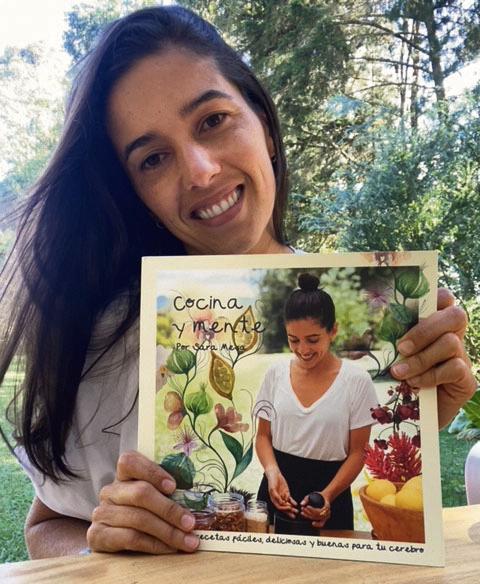 Sara Mesa, con su libro Cocina y Mente