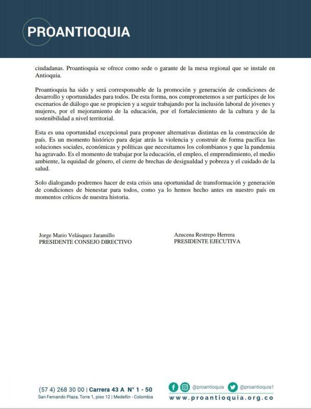 Pronunciamiento de Proantioquia-01