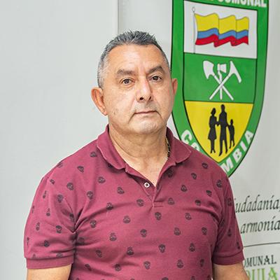 Rodrigo Zapata, tesorero JAC El Socorro.