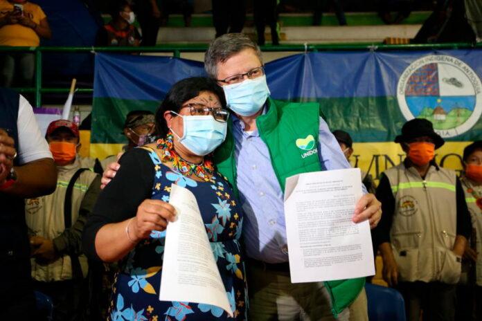 Los diálogos con la minga indígena en Antioquia dieron ejemplo