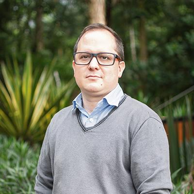 Rodrigo Toledo, arquitecto y profesor en la UPB.