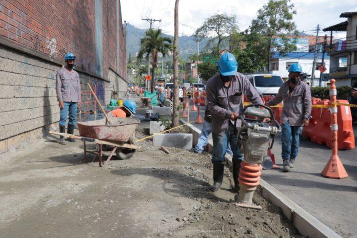 Recuperación vial del corredor que conecta a Itagüí con Envigado