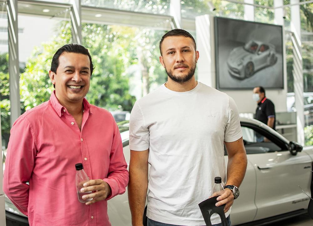 Andrés Munera y Juan Diego Arango