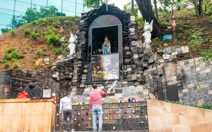Bomberos Medellín entregó recomendaciones para evitar incendios en santuario de La Rosa Mística