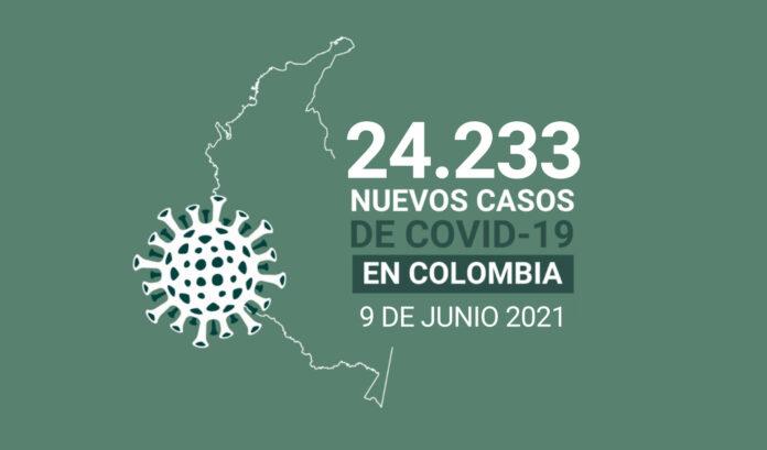 Colombia registró la cifra más alta de muertes por COVID19: 550