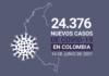 158.000 casos activos de COVID19 tiene Colombia al 14 de junio