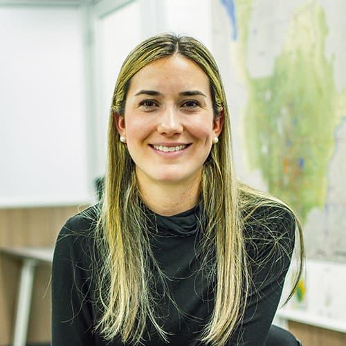 Daniela Trejos, secretaria de Desarrollo Económico de la gobernación